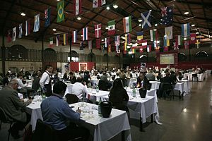 Wine competition: the tasters at work at the &...