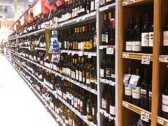 Wine in the Supermarket