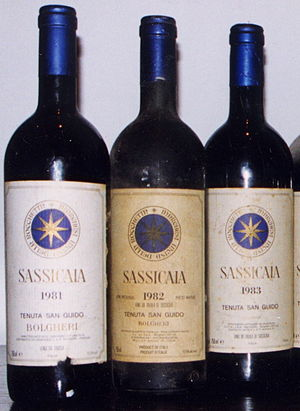 3 Bottles of Sassicaia, cropped from wide vert...