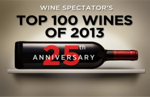 Wine Spectator's TOP 100 WINES OF 2013